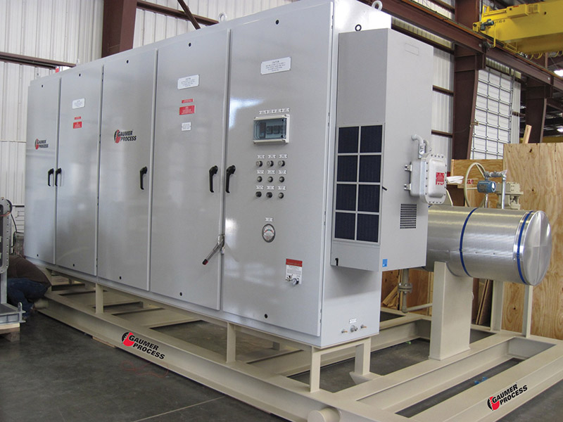 Electric Heater Control Panel - Process Heating Manufacturer