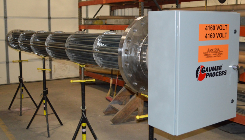 Medium Voltage heater and panel