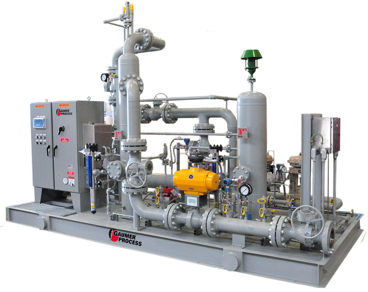 Fuel Gas Conditioning Skid With Panel Box