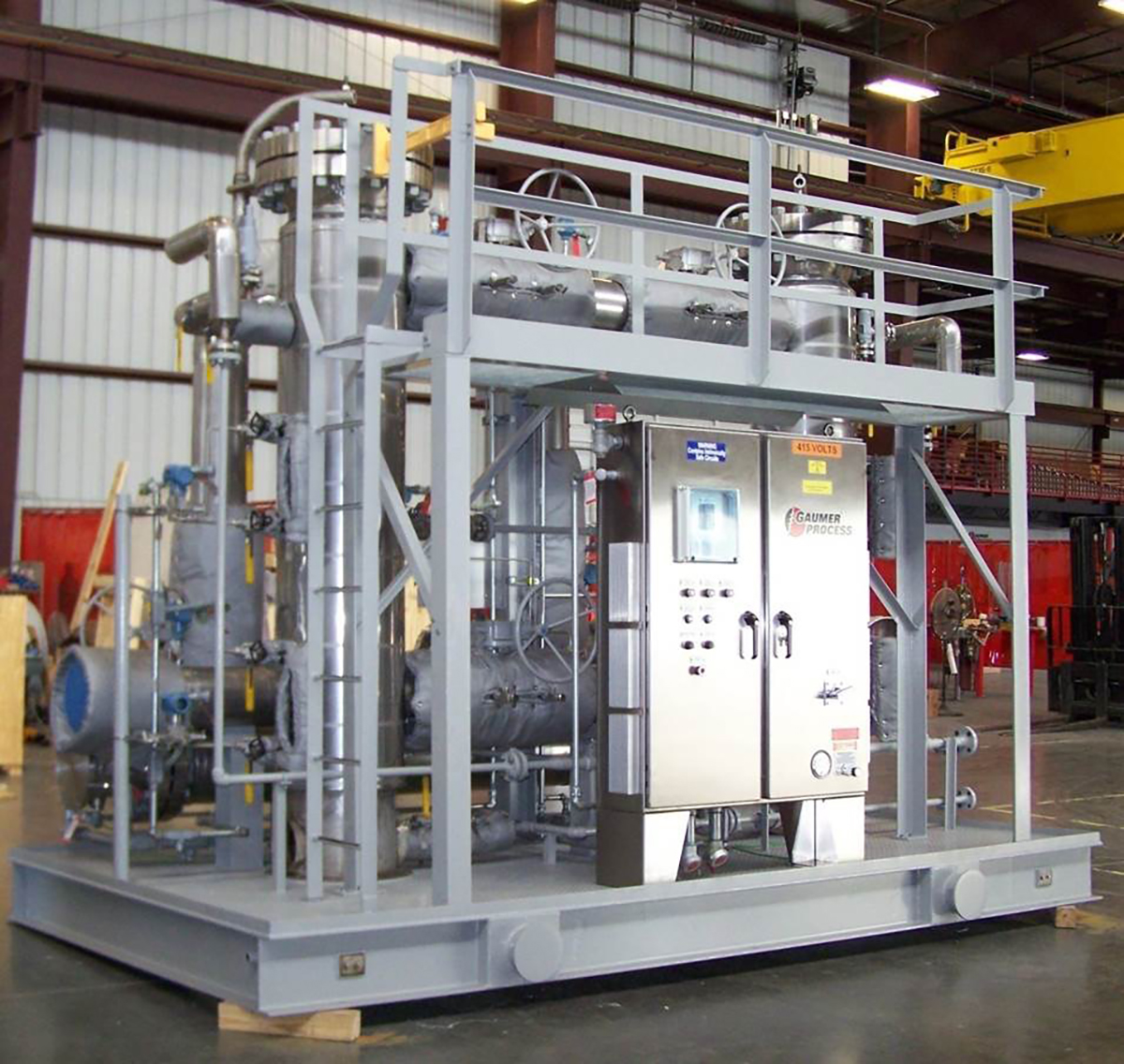 2 story Fuel Gas Conditioning Skid